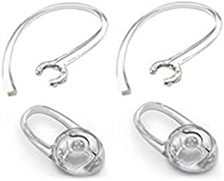 Plantronics Replacement Ear Loop and Pad for M25/M55/M165 (Pack of 2), Transparent