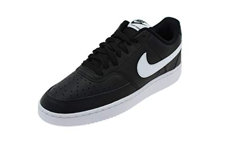 Nike Men's Court Vision Low Sneaker, Black/White-Photon Dust, 10 Regular US