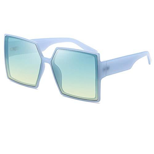 UKKD Gafas De Sol Mujeres Gafas De Sol Señoras Moda Gafas De Sol Mujeres con Gafas De Sol Grandes