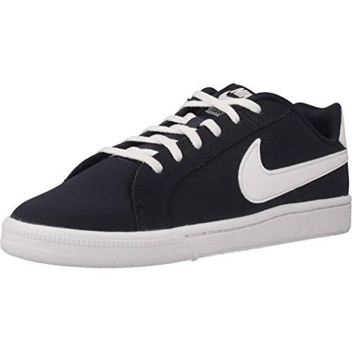 Nike Boys&apos Court Royale (GS) Shoe Obsidian/White