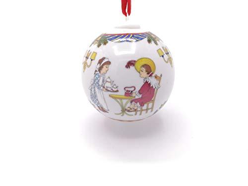 Hutschenreuther Porzellan Weihnachtskugel 2007 in neutraler Geschenkverpackung NEU 1.Wahl