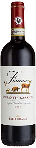 Frescobaldi Faunae Chianti Classico DOCG Toskana - trockener und fruchtig-kräftiger Rotwein aus Italien (1 x 0,75 l)