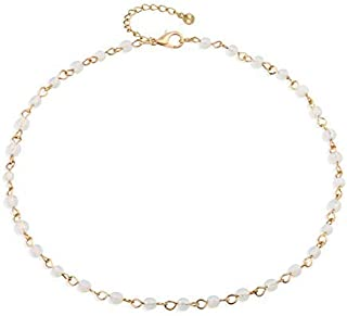 Best simple beaded necklace Reviews
