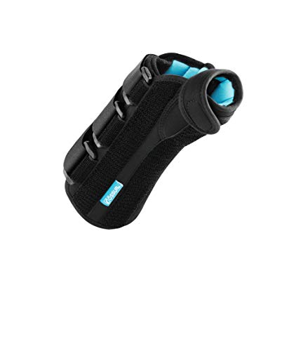 Ossur Formfit Thumb Spica Wrist Brace for DeQuervain's Tendonitis, Arthritis, Gamekeeper's Thumb   Features Removable Aluminum Stays, Contact Closure Straps   Breathable Material   (Left, Small)