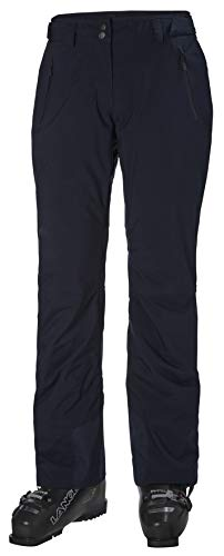 Helly-Hansen Womens Legendary Insulated Waterproof Ski Pant, 597 Navy, Large