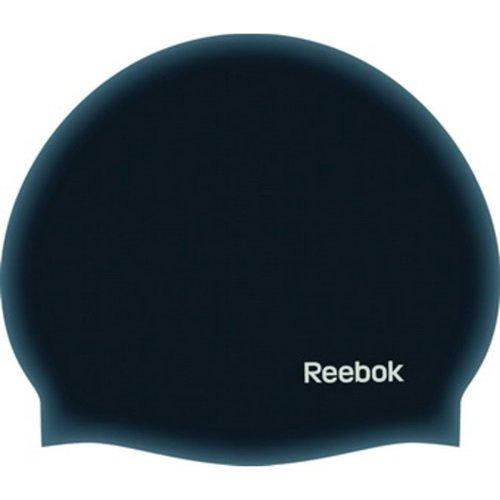 Reebok Silicone Cap Black w14742Gorro de natación, talla OSFY, color: negro