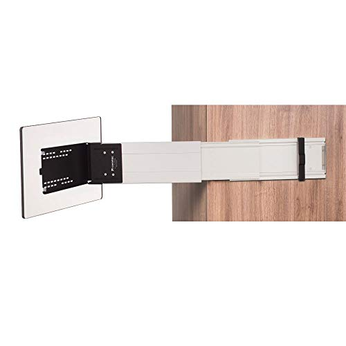 Caratec Flex CFA102L TV-Halter für Wohnmobil, seitlicher Auszug aus Aluminium