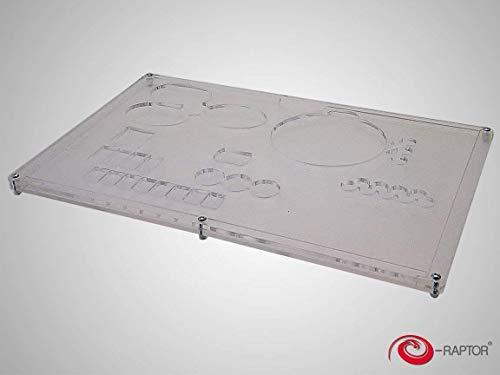 Raptor era93646 – Jeux de Cartes, Board Game Organizer électronique, Terra Mystica