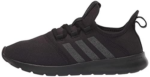 adidas Women's Cloudfoam Pure 2.0 Running Shoes, Black/Black/Black, 8.5