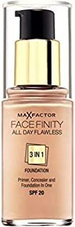 Max Factor Facefinity 3n1 Foundation Warm Almond45