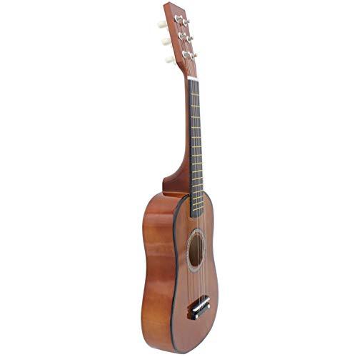 EXCEART 6 23 Polegadas Praticar Iniciantes de Guitarra Acústica Cordas Estilo Tradicional De Madeira De Tília Guitarra Cavaquinho Havaiano Ukeleles O Novato para Meninos E Meninas