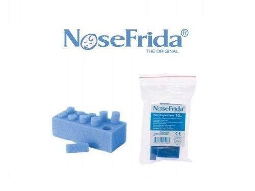 Lot de 10 filtres jetables pour mouche-bébé Nosefrida