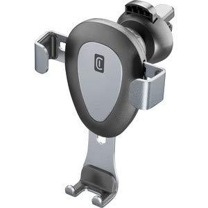 Cellularline handywingprok KFZ Halter Schwarz, Silber–(Handy/Smartphone, Auto, Schwarz, Silber, Halterung für Lüftungsgitter im Auto)