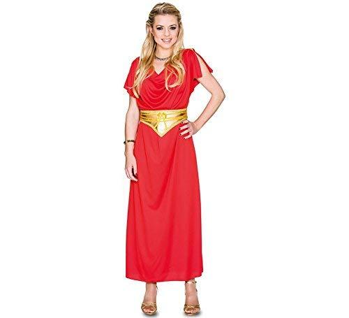Fyasa 706487-T04 Romeins Kostuum Kostuum voor 12 jaar, meerkleurig, maat L