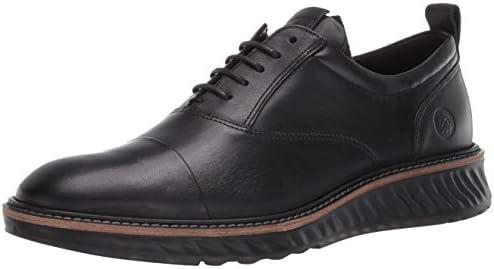 ECCO Men s St 1 Hybrid Cap Toe Oxford Black Dri Tan 6 6 5 product image