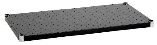 ホームエレクター パンチングシェルフ ブラック D350mm×W1200mmH1448PB1
