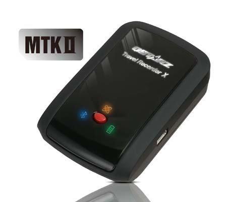 Qstarz Q-1000XT BT-Q1000XT Bluetooth Data Logger GPS Receiver (66 ch, 1-5Hz Update Rate, AGPS, 400,000 Waypoints, Vibration Sensor)