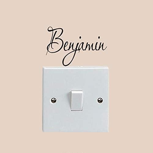 Benjamin Boys Room Home Wall Light Stickers Decals