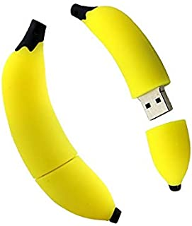 USB 2.0 Pen Drive Pendrive U Disk 64GB Memory Flash Card Banana USB Flash Drives