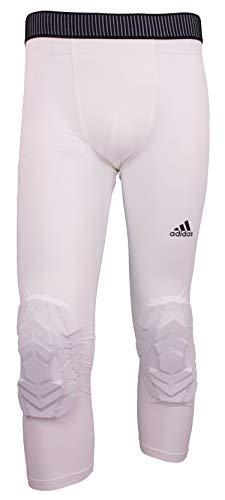 adidas WHT 3/4 - Pantalón acolchado para hombre, talla 3XLT