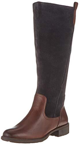 MARCO TOZZI Damen 2-2-25504-23 Hohe Stiefel, Blau (Navy Comb 890), 38 EU
