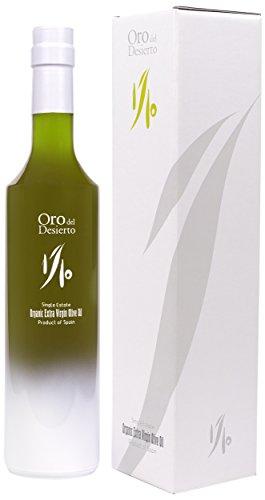 Oro del Desierto 1/10 begrenzte Serie (Neue Ernte 2018-2019) - 100%Natives Olivenöl Extra- 500ml Premium Qualität aux Almeria