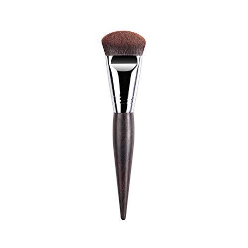 Jenny.Ben 3 Make-up-Pinsel Gesichts-Make-up Grundierungspinsel Flacher Kopf flüssige Grundierung Spezial-Make-up-Pinsel Schwarz