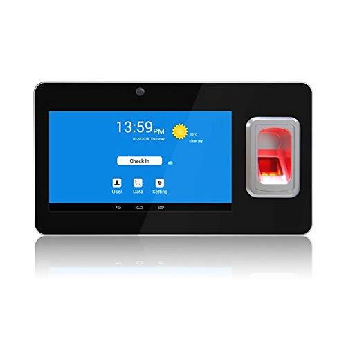 YEZIB Time-Uhren für den Fingerabdruckscanner, Fingerabdruck-Anwesenheits-System mit GPS und SMS-biometrischem Fingerabdruck-Zeit-Recorder-Terminal