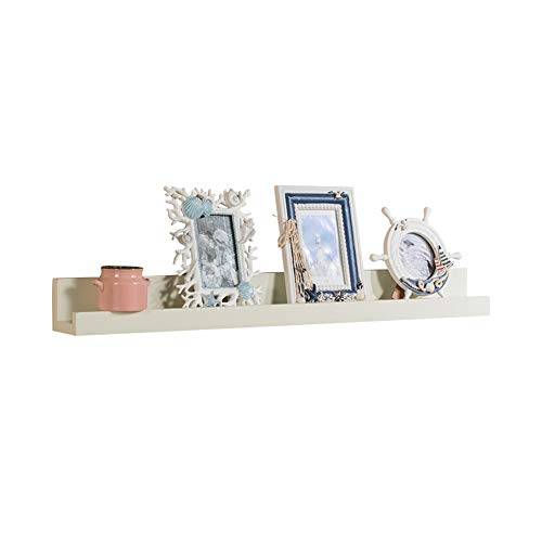 Wall Mounted Drijvende Rekken White Picture Ledge Shelf, 91cm lengtescherm Storage Rack for de woonkamer 410