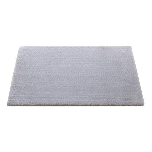 GAO SHOP Eingang Fußmatte Haus Schlafzimmer Badezimmer Wohnzimmer Küche Teppich Fußmatte Anti-Rutsch-Fuss-Auflage verdicken weiche Gewebe-Matten (Farbe : Grau, Größe : 40X60CM)