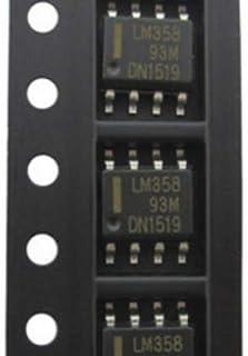 50個/ロットLM358LM358DRSOP8オペアンプ-オペアンプデュアルロー新品オリジナル在庫あり