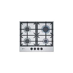 Plaque gaz Neff T26DS49N0 - Plaque de cuisson 4 foyers