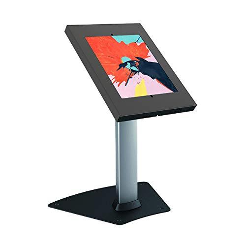KIMEX 091-5042K Soporte de Mesa antirrobo para Tablet iPad 9.7' 10.2' iPad Pro 10.5 Samsung Tab A 10.1' 2019