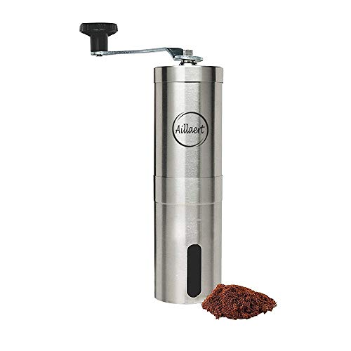 Buy Discount Manual Coffee Grinder – Coffee Grinder Conical Ceramic Burr in Stainless Steel – Po...