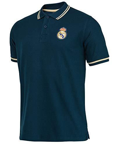 Real Madrid Polo Colección Oficial - Hombre - Talla XXL