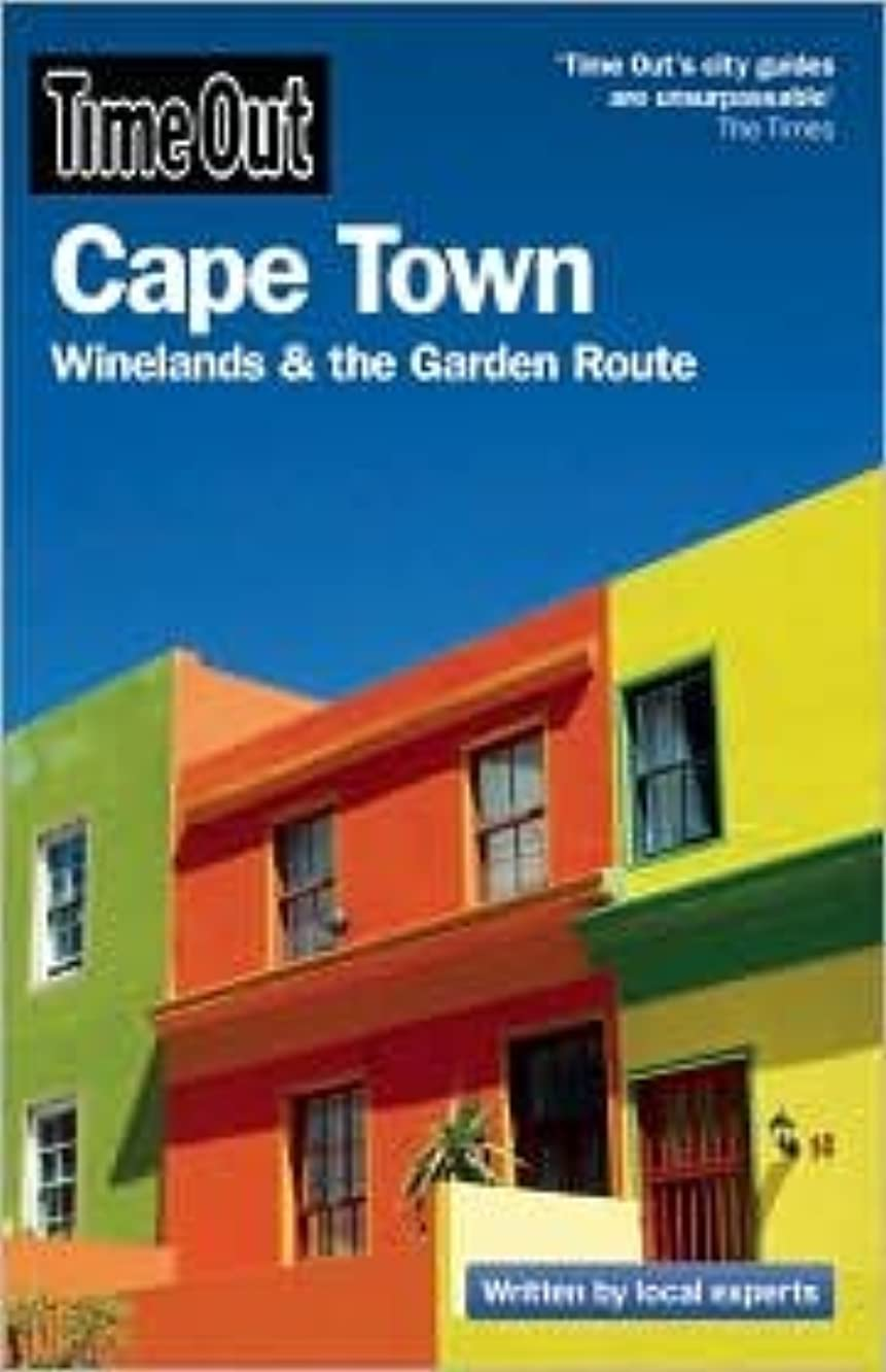 Time Out Cape Town 3th (third) edition Text Only