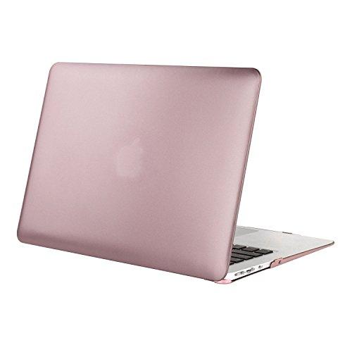 『Mosiso - MacBook Air 11インチ プラスチック ハードケース 薄型 耐衝撃 保護 シェルカバー (対応モデル:A1370 / A1465) (ローズ ゴールド)』の1枚目の画像