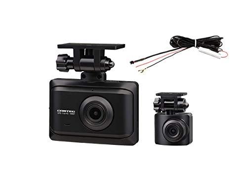 COMTECコムテックZDR016+HDROP-15前後2カメラGPS搭載ドライブレコーダー直接配線コードセット(ZDR-015後継機種)