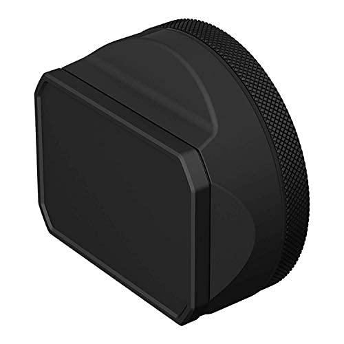 YC Onion FujifilmX100V用レンズフードシェード、FUJIFILM CHINA 純正アクセサリー, アルミニウム合金製23mmアダプターリング付き (ブラック)