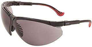 Uvex By Honeywell Genesis XC Safety Glasses With Black Polycarbonate Frame And Gray Polycarbonate Ultra-dura Anti-Scratch Hard Coat Lens