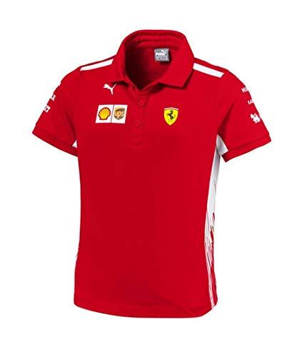SF Scuderia Ferrari Team poloshirt voor kinderen F1 poloshirt. 104 (3-4 jaar).
