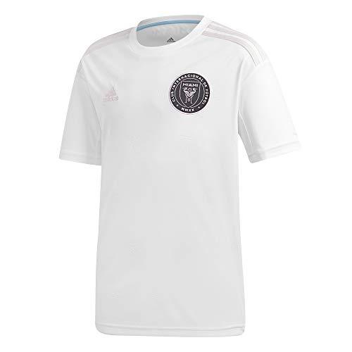 adidas Inter Miami CF Temporada 2020/21 Camiseta Primera equipación, Unisex, Blanco, 128