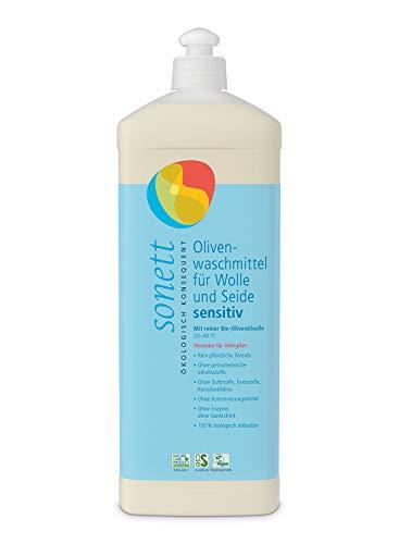 Olivenwaschmittel Für Wolle Und Seide Sensitiv Mit Reiner Bio-Olivenölseife