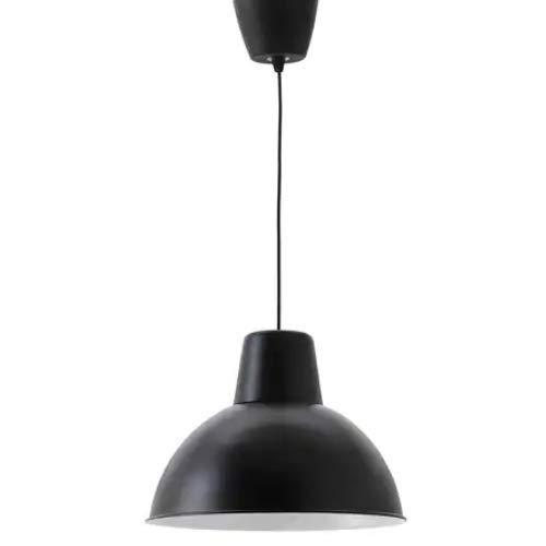 IKEA SKURUP Hängeleuchte in schwarz; (38cm); A++