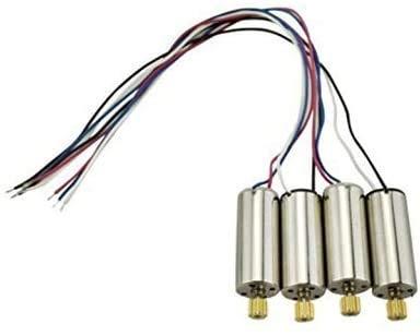 Fytoo 4stuks Motor voor Hubsan X4 H502S H502E H216A, CW CCW Motor Koperen Tanden Drone