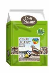 Deli Nature 15-028242 Mélange d'oiseaux de Jardin Super Energy Mix 1000 g