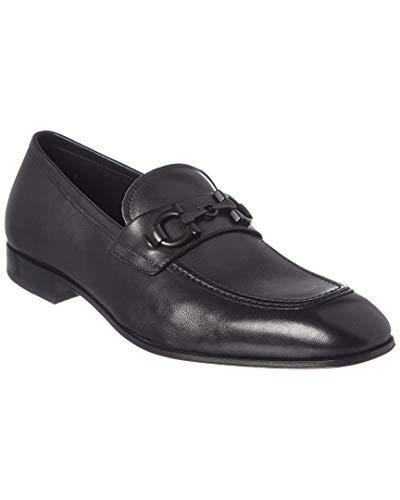SALVATORE FERRAGAMO Asten Loafer Black 10.5