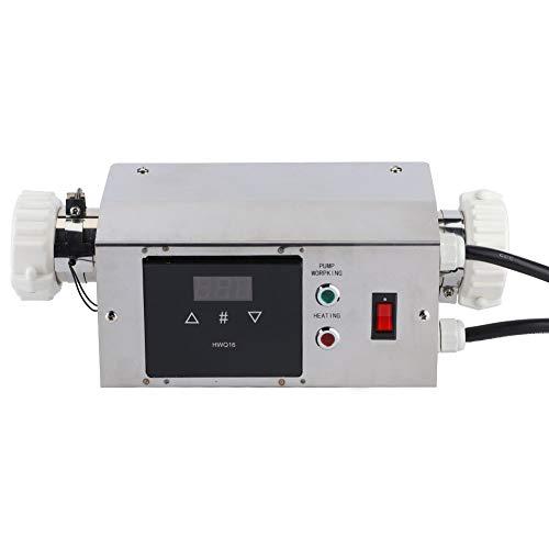 Termostato eléctrico 2KW del calentador de agua de la tina caliente del balneario de la piscina de 220V / 240V(American)