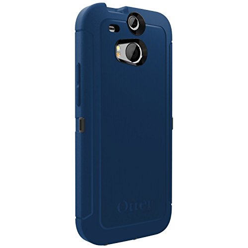 OtterBox Defender Series for HTC One M8 - Retail Packaging - Blueprint Grey/Deep Water
