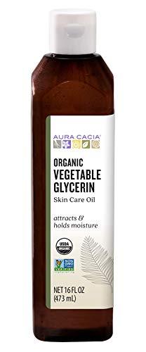 Aura Cacia Certified Organic Vegetable Glycerin Skin Care Oil